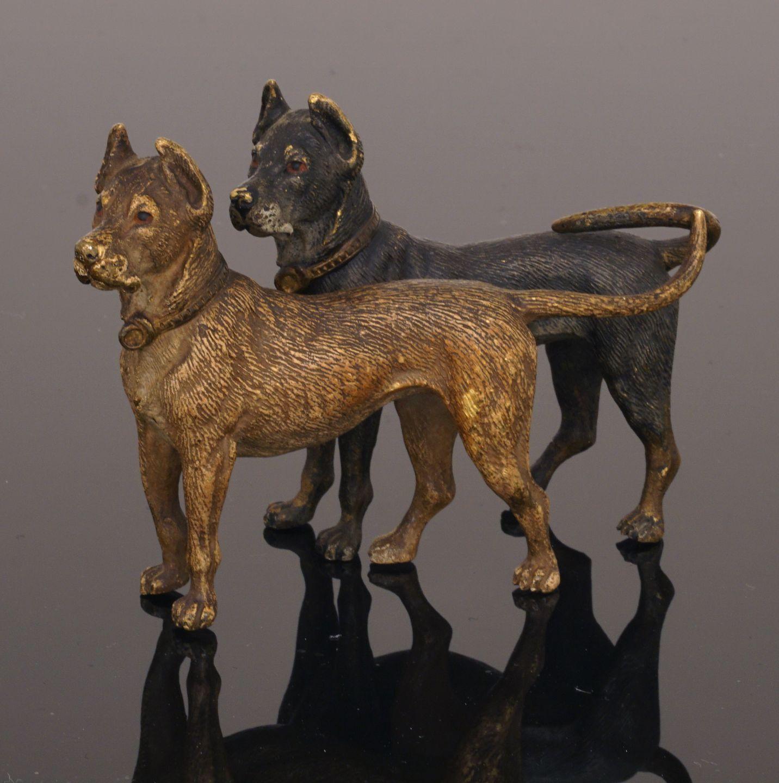 Wiener Bronze Hund Bronze