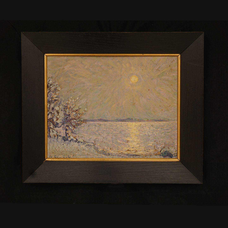Antiknetz.de - Heinrich Blunck, 1891-1963, Winther. Öl auf Platte ...